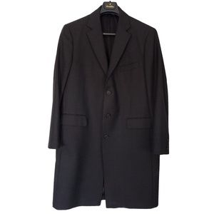 BROOKS BROTHERS Fine Wool Topcoat 44L